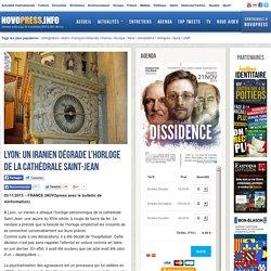 Lyon: un Iranien dégrade l'horloge de la cathédrale Saint-Jean