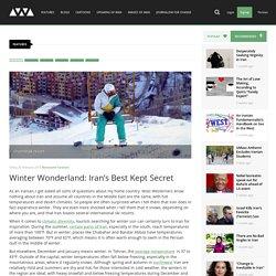 Winter Wonderland: Iran's Best Kept Secret