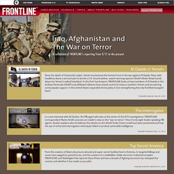 Iraq Afghanistan And The War On Terror