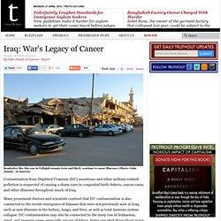 Iraq: War's Legacy of Cancer