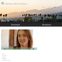Bank in Montecito offers Personal Certificate of Deposits