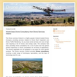 Drone Aerial Survey Ireland: World-Class Drone Consultancy from Drone Services Ireland