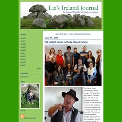 Liz's Ireland Journal: Pat Speight Comes to Study Abroad Ireland