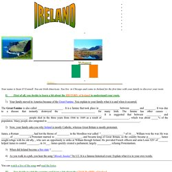 Ireland (Sean O'Connell, Irish American)