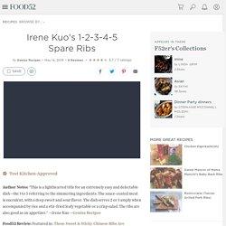 Irene Kuo's 1-2-3-4-5 Spare Ribs Recipe on Food52