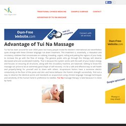irenesanchezcelis - Advantage of Tui Na Massage