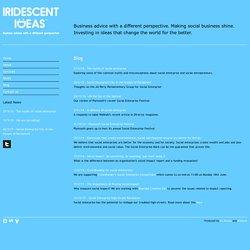 Iridescent Ideas