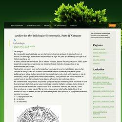Iridología y Homeopatía. Parte II « Iridologia Madrid