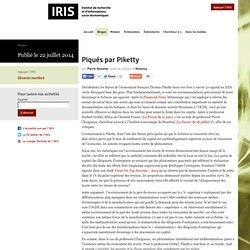 IRIS – Blogue – Piqués par Piketty