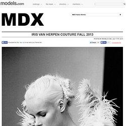 Iris Van Herpen Couture Fall 2013