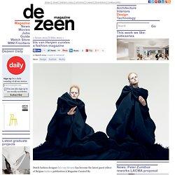 Iris van Herpen curates a magazine