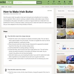 How to Make Irish Butter (with Pictures