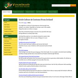 Irish Culture & Customs From Ireland