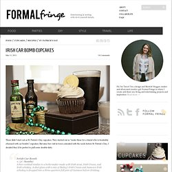 Irish Car Bomb Cupcakes | Formal Fringe