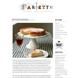 Irish Curd Cheesecake | {farmette}