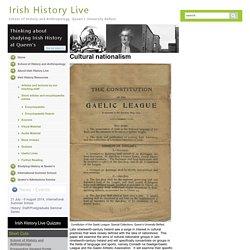 Blog: Gaelic Revival