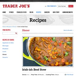 Irish-ish Beef Stew