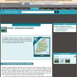 Irlande : géographie physique