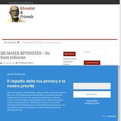 IRLMAIER RIVISITATO - Su fonti tedesche — Blondet & Friends