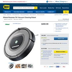 iRobot Roomba 761 Vacuum Cleaning Robot : Robot Cleaners