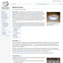 iRobot Create
