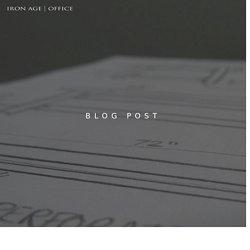 Iron Age Office - Blog Post