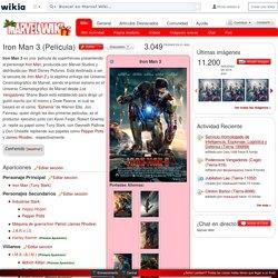 Iron Man 3 (Película) - Marvel Wiki