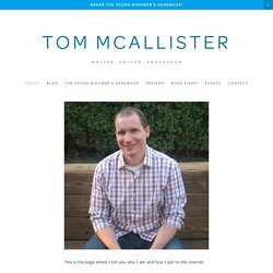 107 Ironclad Rules for Writers Who Want to Be Better at Writing : Tom McAllister