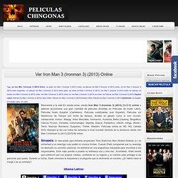 Ver Iron Man 3 (Ironman 3) (2013) Online - Pelicula Online Gratis