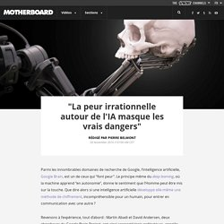 """""""La peur irrationnelle autour de l'IA masque les vrais dangers"""""""