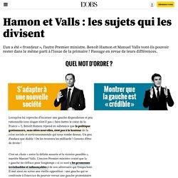 Hamon et Valls, irréconciliables ? Comparez leurs programmes