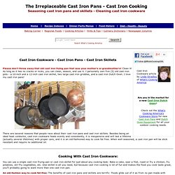 Cast Iron Pans, Cast Iron Skillets, Cast Iron Cookware, Seasoning Cast Iron, How To Season Cast Iron, How to Clean Cast Iron
