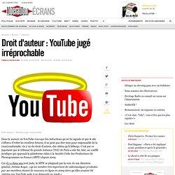 Droit d'auteur : YouTube jugé irréprochable