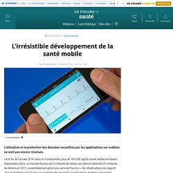 L'irrésistible développement de la santé mobile