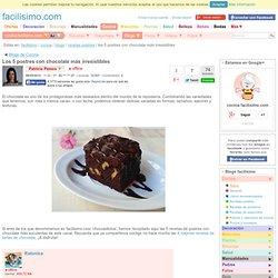 Los 5 postres con chocolate más irresistibles