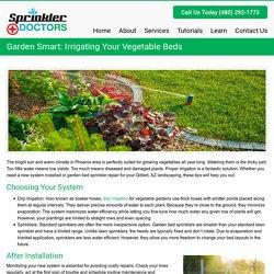Garden Smart: Irrigating Your Vegetable Beds - Sprinkler DoctorsSprinkler Doctors