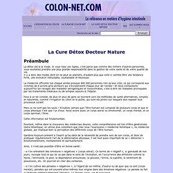 L'irrigation du côlon en totale autonomie avec la planche COLON-NET l'outil indispensable de votre santé - La Cure Détox Docteur Nature