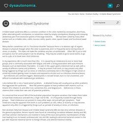Dysautonomia - Modern research