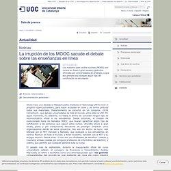 La irrupción de los MOOC sacude el debate sobre las enseñanzas en línea