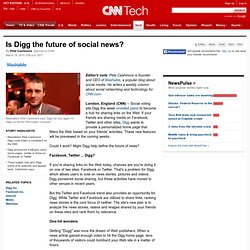 Is Digg the future of social news?