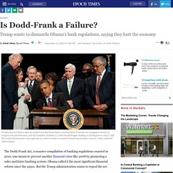 Is Dodd-Frank a Failure?