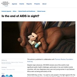 Is the end of AIDS in sight?