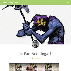 Is Fan Art Illegal?