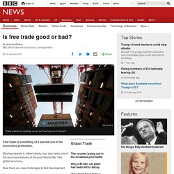 3.7.4 Is free trade good or bad?