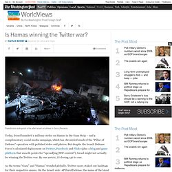 Is Hamas winning the Twitter war?