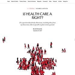 Is Health Care a Right?