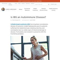 Is IBS an Autoimmune Disease?