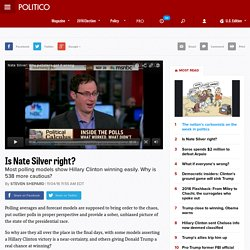 Is Nate Silver right?