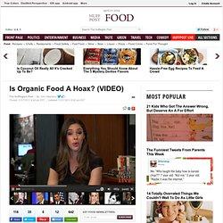 Is Organic Food A Hoax?