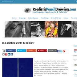 Is a painting worth 43 million